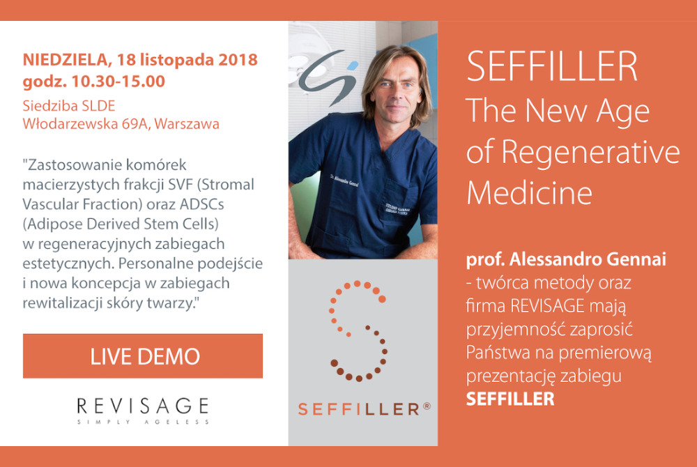 18 11 2018   Warsaw   The New Age of Regenerative Medicine